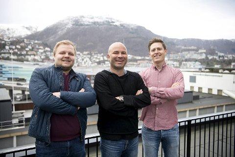 Jonas Johnsen (t.v.), Jan Gunnar Kolstad og Einar Lundsør har fått optimismen tilbake etter seieren i Bærum. Mer skal nemlig ikke til!