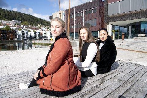 Silje Lygre Unnvik, Denise Candelario og Anna Brandsdal (alle 21)  studerer markedsføringsledelsen på BI og tilhører den kundegruppen som oftest handler varer på nett. Nedenfor finner du jentenes beste netthandeltips.