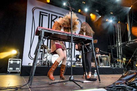 First Aid Kit avlyser årets Bergenfest-konsert. Her fra samme festival i 2015.