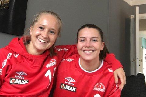 Sandviken -profilene Amalie Eikeland og Cecilie Kvamme bor sammen – og kan juble for landslagsplass!