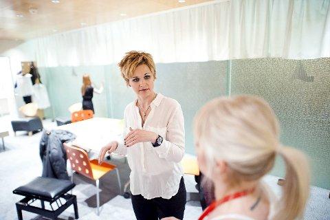 Backstagereportasje med Karoline Kruger og Sigvart Dagsland, Grieghallen