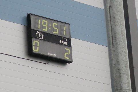 Bekreftet resultat. 51-19 til Brann. Klokken er 02.