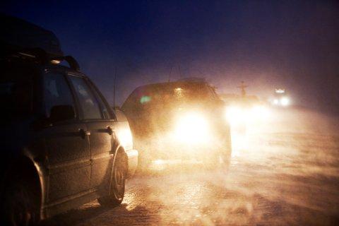 Det er ventet vanskelige kjøreforhold på fjellovergangene i Sør-Norge.