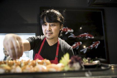 Sushisjef Alexej Shegai og gjengen på Red Sun har mange ulike asiatiske retter. Våre anmeldere valgte denne gang mest japansk-inspirert mat fra menyen – og ble begeistret.