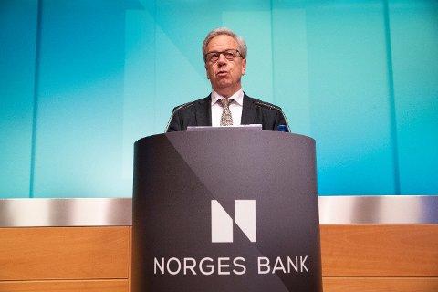 Sentralbanksjef Øystein Olsen kommer torsdag etter alt å dømme til å varsle høyere styringsrente.