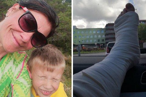 Fjellturen til Veronica Halvorsen og sønnen startet med smil og latter, men endte i tårer på legevakten.