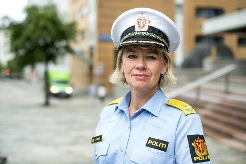 Visepolitimester Ida Melbo Øystese bytter ut Vest med Øst.