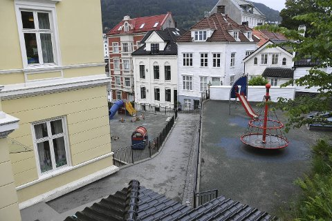 Akasia barnehage blir krevd for 28 millioner kroner av Bergen kommune. Her fra Akasia Nykirken barnehage.