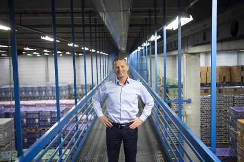 Administrerende direktør Lars Giil i Hansa Borg Bryggerier håper de neste månedene kan leve opp til den varme sommeren i fjor. – Det skal ikke stå på oss. Vi er knallklare og veldig godt rigget.