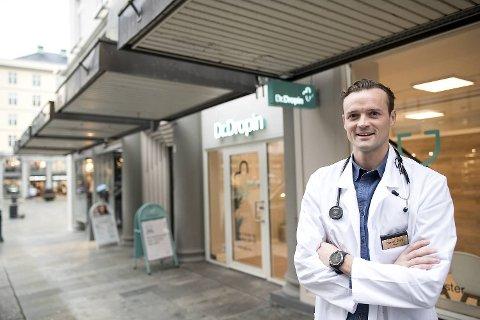 Lege og gründer bak Dr.Dropin Daniel Sørli får skarp kritikk fra Rådet for legeetikk.