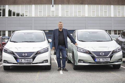 Frode Sande er administrerende direktør både i Sandegruppen og i Sande Auto Nord. FOTO: EMIL WEATHERHEAD BREISTEIN