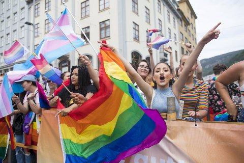 Det er viktig at Norge går foran som et godt eksempel for homofiles rettigheter, skriver Silje Hjemdal.FOTO: Emil W. Breistein