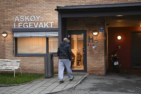 Det har vært stor pågang på Askøy legevakt torsdag kveld.