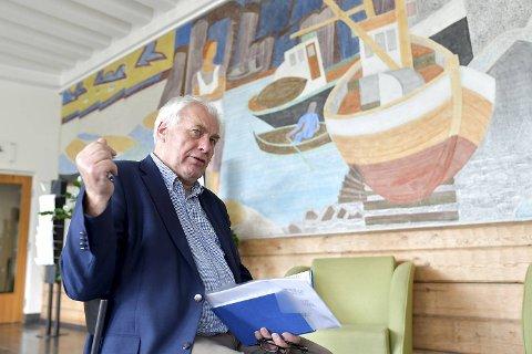 Varaordfører Bård Espelid håper de kan oppheve kokevarselet neste uke.