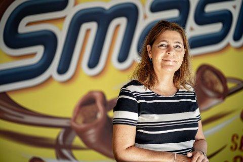 Orkla og konserndirektør Jeanette Hauan Fladby har virkelig truffet med lanseringen av Smash! i Danmark.