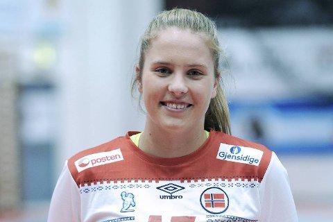 Kaja Haugseng blir Tertnes-spiller. 17-åringen har junior- og ungdomslandskamper for Norge.