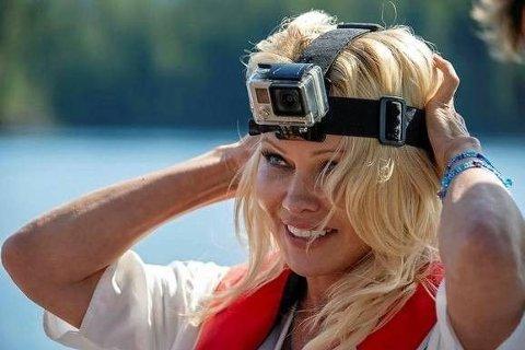 Pamela Anderson er blitt lakseaktivist.