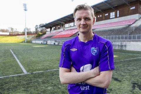 Erik Huseklepp var tidlig på'an lørdag, med scoring i første minutt!