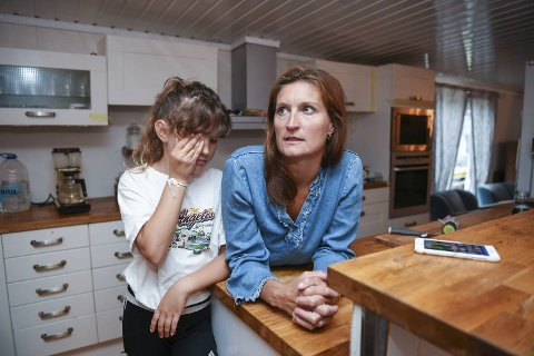 Tone Bergsvåg og datteren Dina har flyttet til Stord med fergen sin. (Arkivfoto)