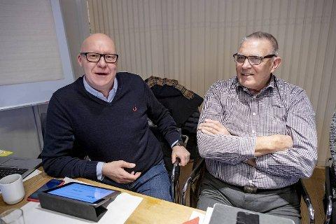 Rune Bakervik (Ap) og Norvald Visnes (H) mener begge at støy fra bygging bør begrenses.