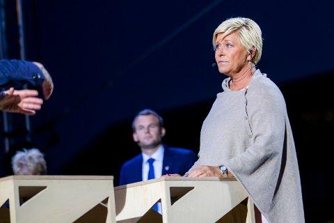 Leder i Fremskrittspartiet (Frp) Siv Jensen forteller at regjeringspartiene er nær en enighet når det kommer til bompenger.