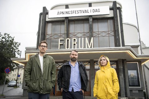 Thor Haakon Bakke, Sofie Marhaug og Mikkel Grüner dropper søndagens verdidebatt på Forum på grunn av eierskapet til Dan Odfjell.