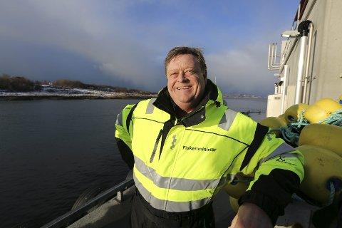 Ny tittel: Norge har for første gang en fiskeri- og sjømatminister: Harald T. Nesvik (Frp). – På tide, mener sjømatselskaper i Bergen. Foto: Øyvinn Myge/NFD