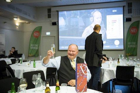 Trym Aafløy var fornøyd etter valget som ga ham elleve representanter i bystyret.