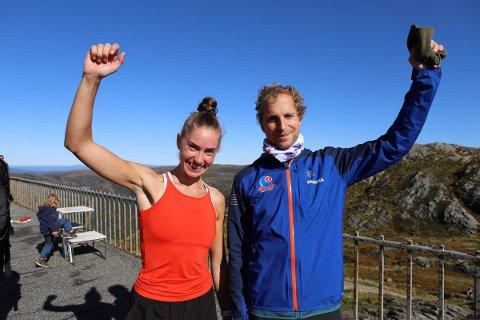 Rebekka Birkeland og Thorbjørn Ludvigsen vant hver sin klasse i Oppstemten opp lørdag.