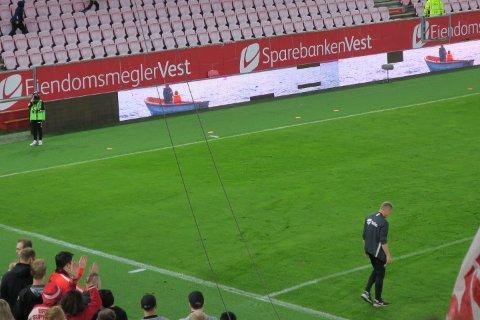 LAN har vært i skammekroken i hjørnet mellom Frydenbø og Spv-tribunen og fått kjeft og melding med hjem.