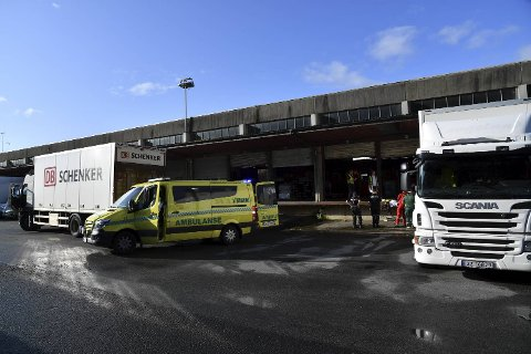 En mann fikk foten i klem i en arbeidsulykke på Lungegårdskaien.