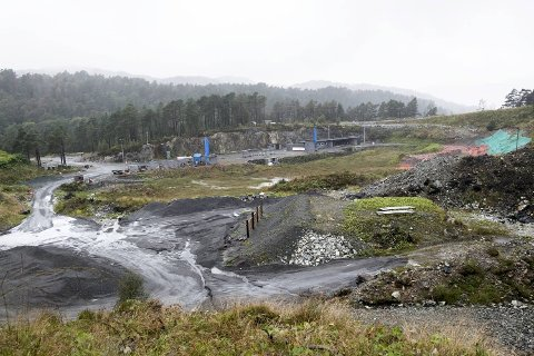 Skytebanen på Kismul.