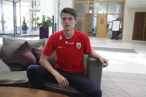 Sander Christiansen forlot Brann for et år siden. Nå har han fått sine første minutter på banen for A-laget til Borussia Mönchengladbach.