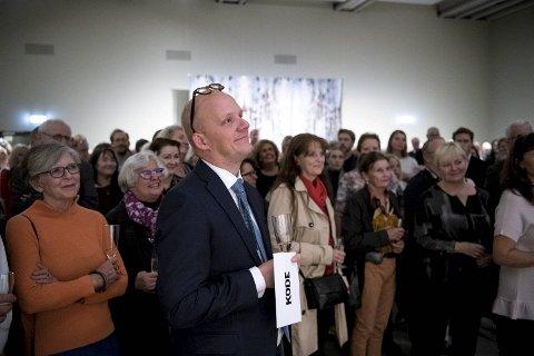 Petter Snare er veldig glad for den enorme interessen rundt Munch-utstillingen.