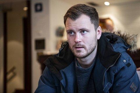 Tim-Robin «Timsalabim» Lihaug er klar for ny proffkamp i Grieghallen i Bergen 7. mars.