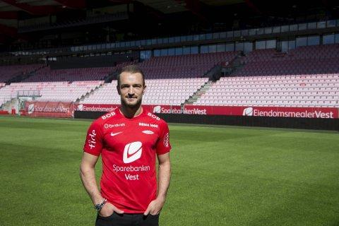 Veton Berisha er klar for Viking.