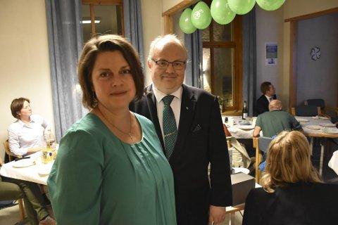 Laila Melkevoll, her sammen med Ove Sverre Bjørdal.