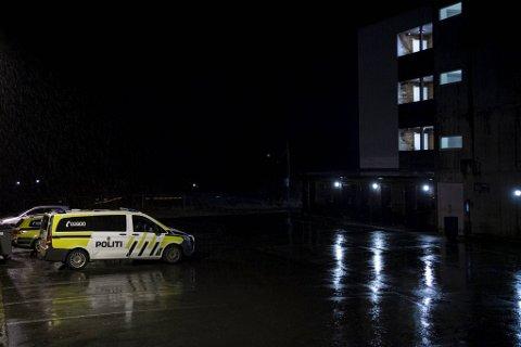 Her på Lonemarka ble mannen i 40-årene pågrepet tirsdag.