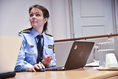 Politiadvokat May-Britt Erstad møtte i retten og argumenterte for fengsling av mannen.