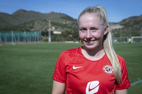 Thea Bjelde er tatt ut på landslaget for første gang.