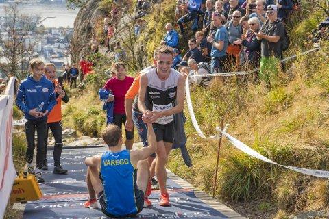 I fjor knuste Stian Øvergaard Aarvik løyperekorden til Thorbjørn Ludvigsen i Stoltzen Opp. Onsdag er det duket for ny duell i Fløibanen Opp.
