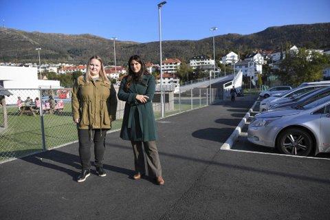 Kristine Høgh og Ann Kristin Knudsen fra FAU føler at barnas trygghet sviktes. I snart to år har de  henvendt seg til kommunen for hjelp, til liten nytte.