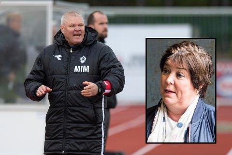 Mons Ivar Mjelde røk på et nytt tap. Styreleder Marianna Bjorøy (innfelt) har ikke fått trenereffekten hun hadde ønsket seg.