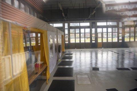 Onsdag måtte testsenteret i Fyllingsdalen stenge på grunn av mistanke om ansatte som var påført kullosforgiftning.