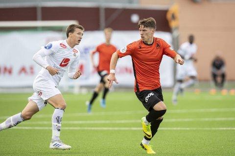 Åsanes Joakim Hammersland har fått slengt ordet «soper» etter seg på fotballbanen.
