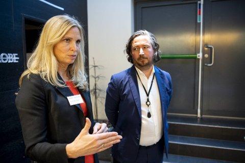 Maria Helsengreen og Vegard Sjursen fra EY har jobbet intenst med fremtidsscenariene for Vestlands næringsliv de ti neste årene. De leverte klar tale om utfordringene vi står overfor.