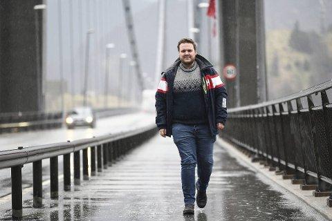 Osterøy-ordfører Lars Fjeldstad (Sp).