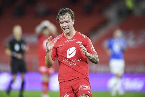 Fredrik Haugen har testet positivt for korona.