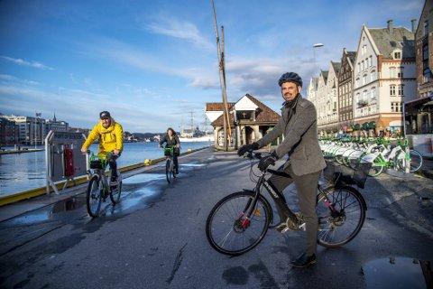 Reidar Thorstensen tror veien blir bra for sportssyklister, men frykter den ikke blir trygg nok for alle.
