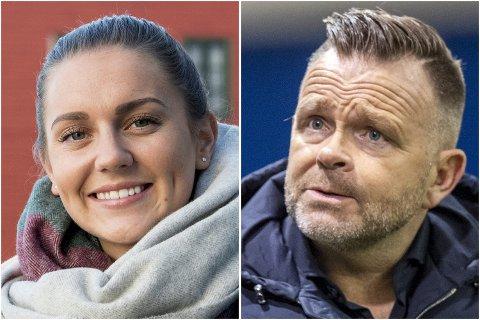 Vilde Bøe Risa og Stig Lillejord er midlt sagt spente på hva onsdagen bringer.